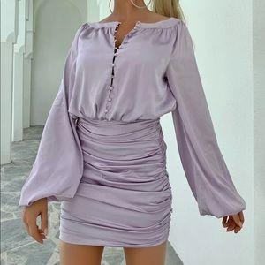 Silk dress!